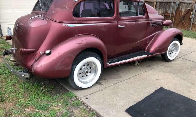 1938 Chevy 2 Door Sedan Street Rod 8