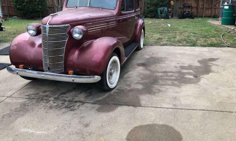 1938 Chevy 2 Door Sedan Street Rod 14