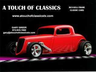 Nada Classic Cars >> Home A Touch Of Classics